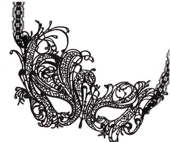 Masken Herren Damen Masken-Ball Karneval Fasching Maske erotische Spitze schwarz Venezianische Halloween Stoff Maskerade Gesichtsmaske erotic Eye Mask Man woman black Butterfly 4882