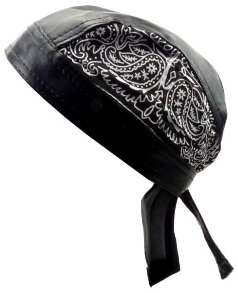 Kopftuch Herren Damen Kopf-Tuecher schwarz Biker Gothic Paisley-Motiv Head-Scarf black Theme Paisley 5179