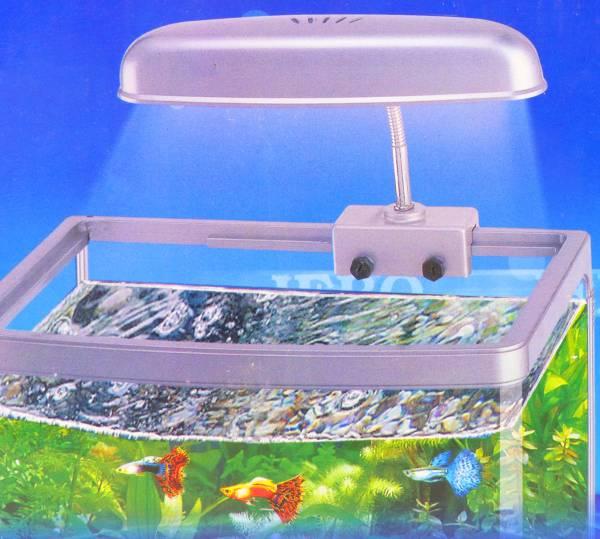 Aquarium-Lampe Klemm-Leuchte Universal Oberlicht