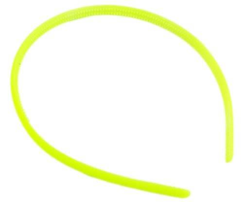 Haar-Reifen 1628 Haarreif Haar Klammer viele Modelle - tolle Farben extra schmal (gelb)