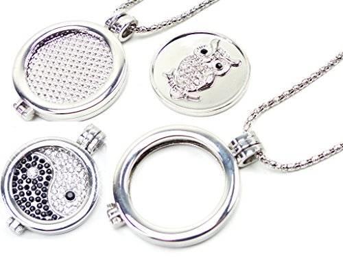 Ketten Set 2682 Ketten 5Stk in einem Silber Kette mit Wechsel Anhänger Silber Set für Sie und Ihn