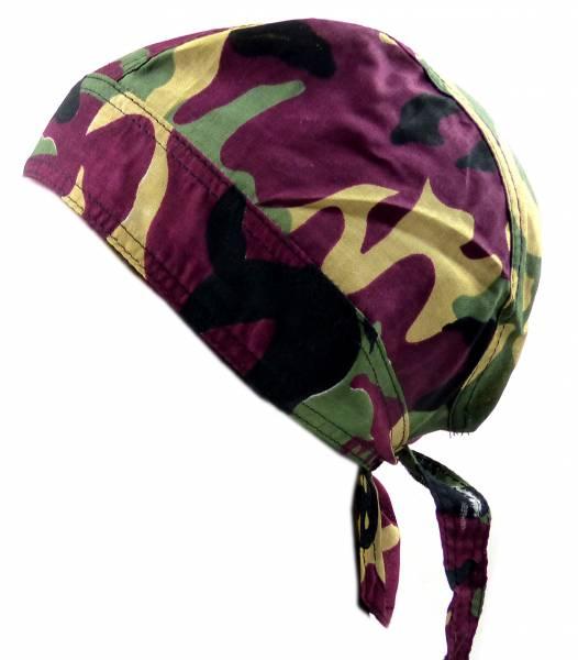 Kopftuch 4521 viele Kopftuecher Bandana Headscarf Bandannas für Kinder und Erwachsene (Herbst-Tarn)