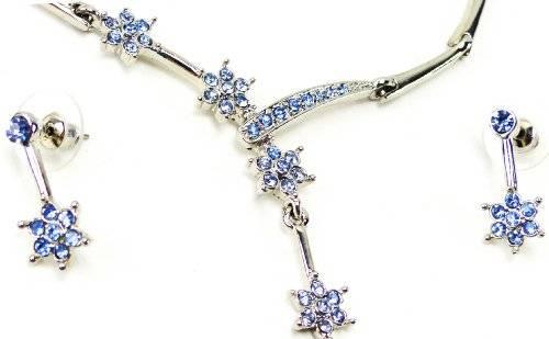 Schmuckset Wunderschönes Collier und passende Ohrringe blueStar