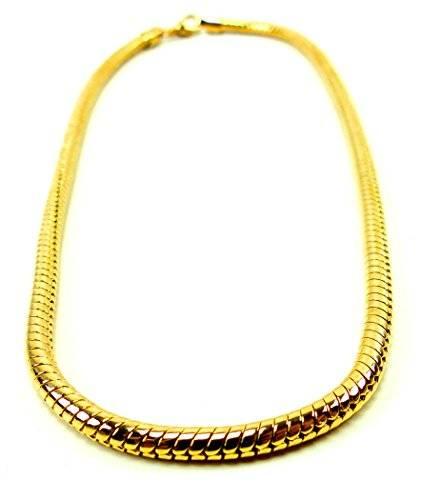 Kette 4181 Gold Kette Hip Hop Gangster Gold-ketten für Herren und Damen GlamChain 5mm Ø - UKx4