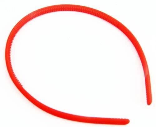 Haareifen 4065 Haarkralle Haar-Reif Haarspange viele Modelle - tolle Farben extra schmal (orange)