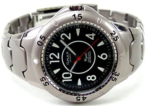 Uhr 3343 Marken-Uhr klassische Herren-Uhr Metall Armband Designer Uhr OMAX BLACK U81x2