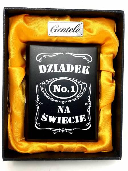 Zigaretten-Etui Cigarette Box Metall Schachtel schwarz Motiv No1