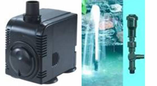 Garten-Teiche Springbrunnen-Set inkl. Pumpe+Aufsatz Fontaenen-Set Spring-Brunnen Pons-Fountain Kid 5694