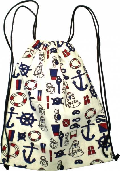 Beutel Rucksack Herren Damen Hipster Tasche beige  Turnbeutel Segeltuch Seemannsbeutel Stoffbeutel Kinder Gym Tasche - Tools 4726