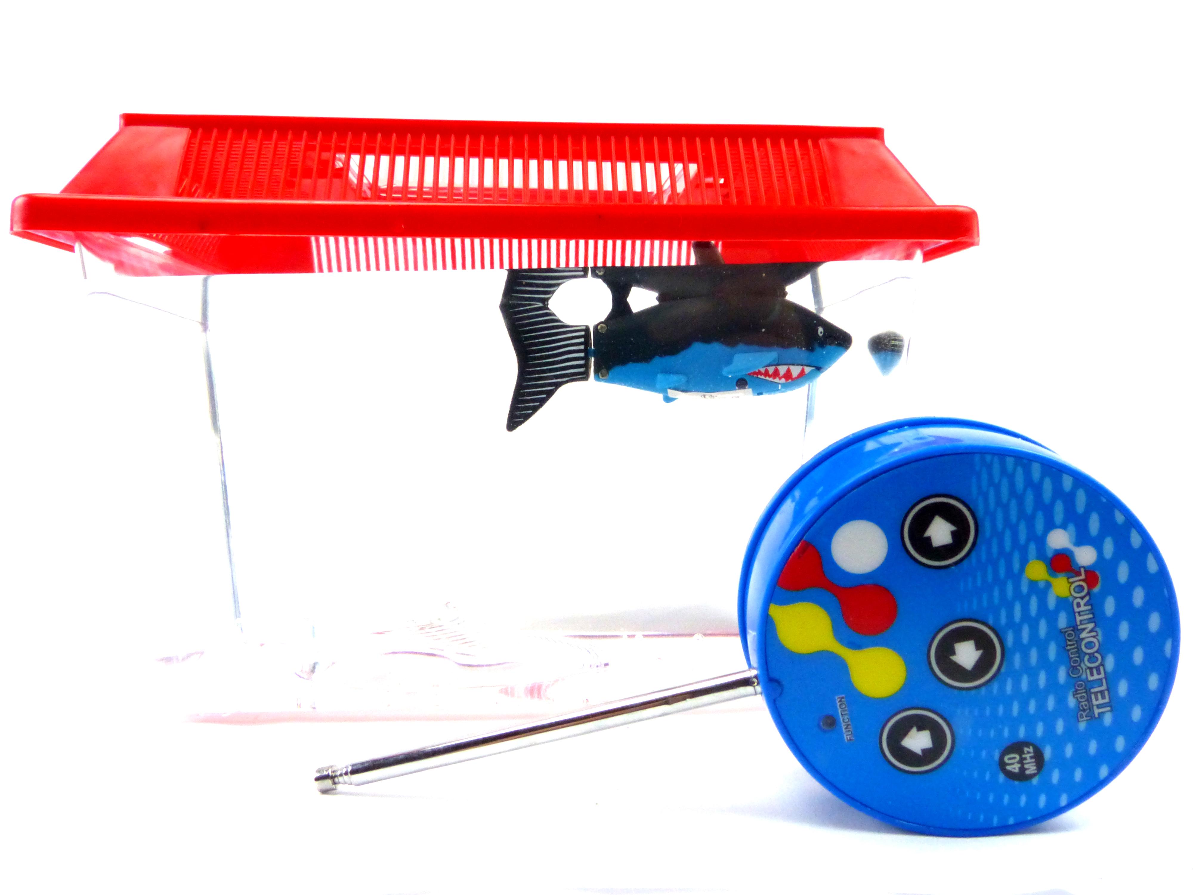 Kinder aquarium set spielzeug roboter haifisch