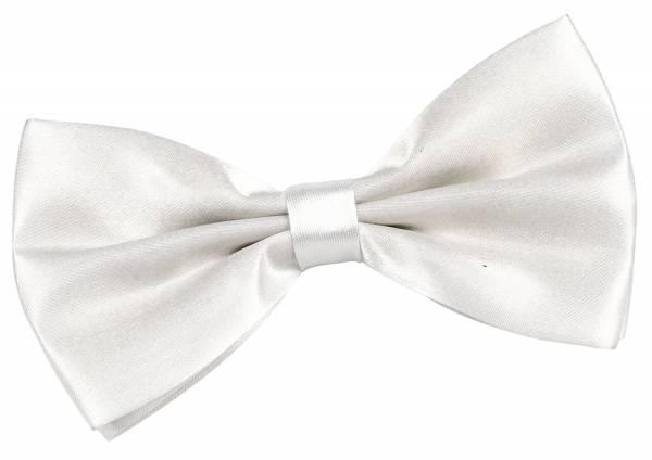 Premium Vorgebundene Herren Damen Motto Anzug Fliege Weiss Transparent