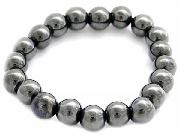 Damen Armband-schwarz Hamatit Armbänder mit Magnet