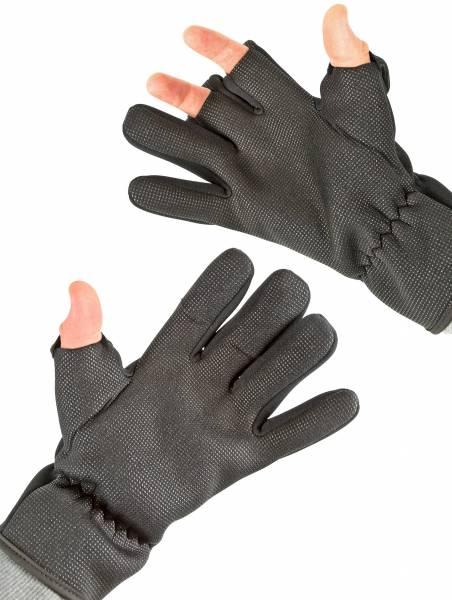 Premium Neopren-Handschuhe Professionelle Outdoor Freie Finger Angler-Handschuhe Rutschfest und Winddicht