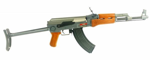 Profi Softair Gewehr AK47S Airsoft Rifle Tactical Toy Gun elektrisch 90cm <0,5Joule