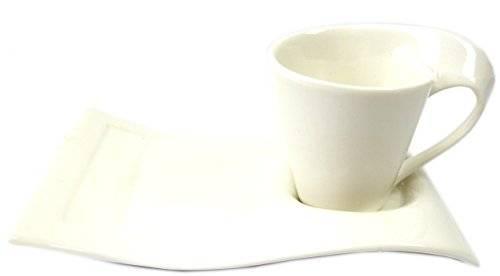 Tassen 1972 Set 2 teiliges Espresso Mokka Set handgefertigt Coffee Cup Set 2pc Handmade im edel modernen Design