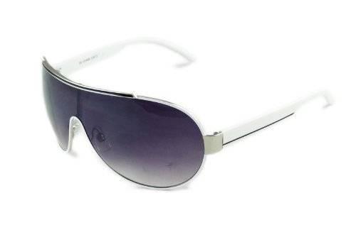 Sonnenbrille trend Sun Glasses 2420 modern Sommer-Brille Oneshade Sonnenbrille Schwarz Weiss O30
