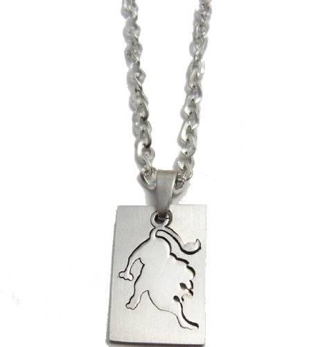 Halskette 50cm mit tollem Sternzeichen Anhänger - Löwe