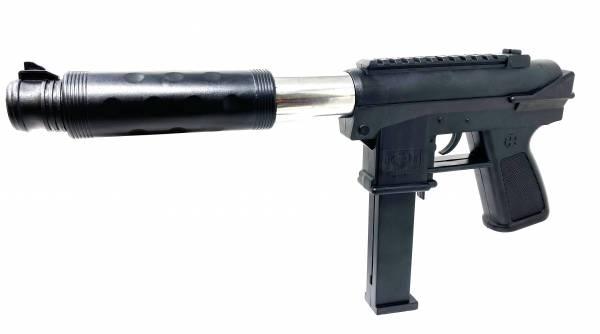 Softair Pistole UZI Airsoft Gun Federdruck 37cm Pump Action 0,49 Joule