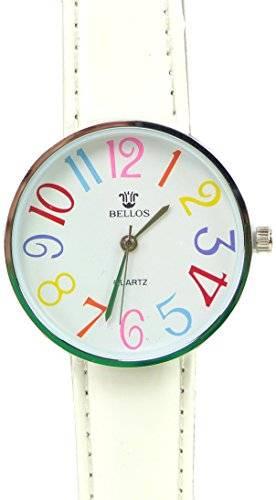 Uhr 2052 Tolle Marken Uhren mit knalligen Farben in schönem Design Watches WEISS UA6