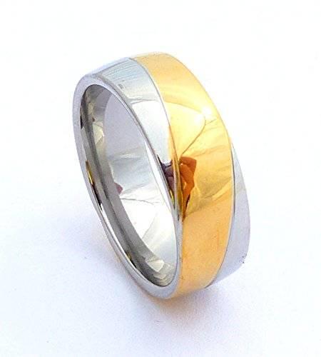 edle Edestahl Ringe für Sie und Ihn hochwertige Verarbeitung viele Modelle (60, G3)