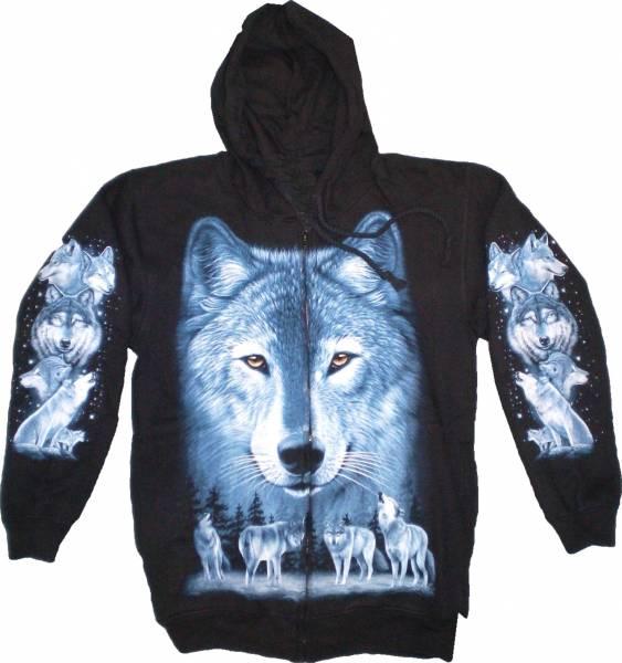 Sweatshirt-Herren Damen-Jacken Kaputzen-Pullover Jacke S-XL black Sherpa Hoodie Sweatshirt Kaputzen Pulli #8