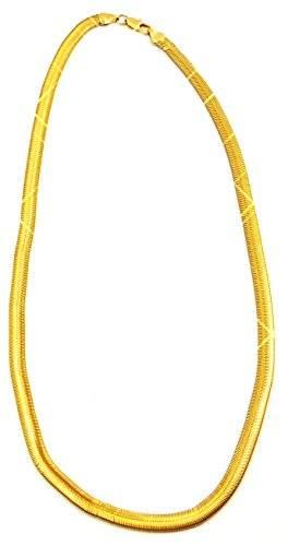 hochwertige Goldkette Business Halskette für Herren und Damen 6mm BS1-8-9x