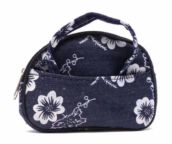 Kinder-Portmonee kleine Handtasche mini Taschen Hand-Tasche ab 1 Jahr (Jeans Muster)