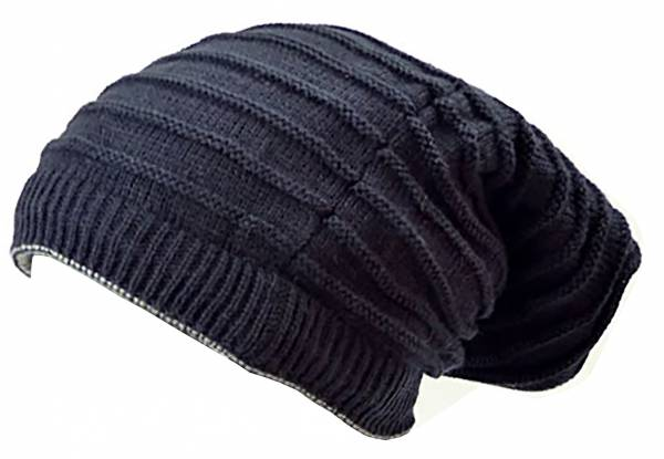 Mützen Set Herren Damen Winter Muetze blau Beanie Wende Mützen 2x 2in1 Loop Schal Winter Schals Rundschal Long Beanie Cap Winter Edition (blau) 4049