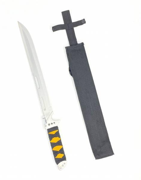 Camping Machete XL Messer Outdoor Combat Knife Ninja-Schwert silber 46cm