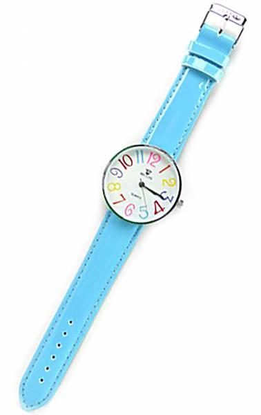 Tolle Marken Uhr mit knalligen Farben in schönem Design TÜRKIES UA4
