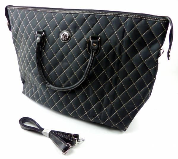 Tasche schwarz Damen Herren Reise-Taschen XL Schulter Tasche 60x40 Designer Man Woman Travel-Bags black 4939