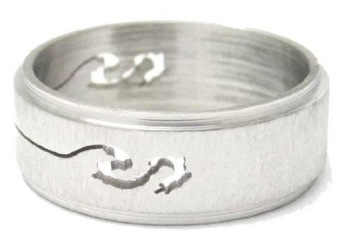 Top Designer Edelstahl Ringe viele Größen und Designs (18, snake)
