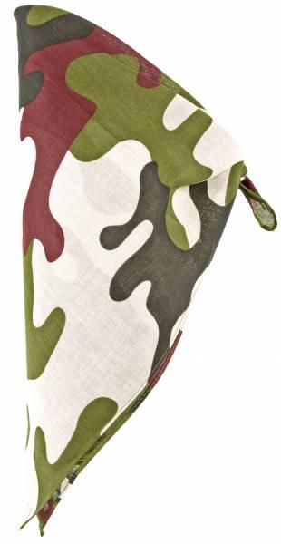 Masken-Schal Kinder Erwachsene Camo Tarn-Muster 54cm