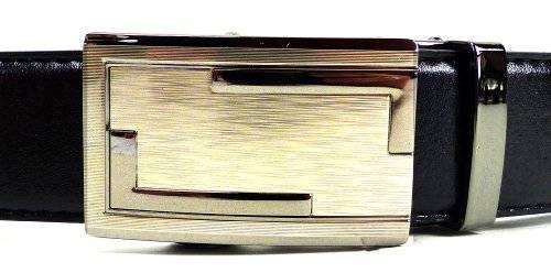 Guertel 2350 edler Luxus Automatik-Gürtel stufenlos einstellbar 110cm OL2
