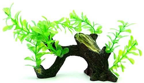 Aquarium-Wurzel-Terrarium-Wurzel-Dekoration-mit Pflanzenbesatz Pfw92
