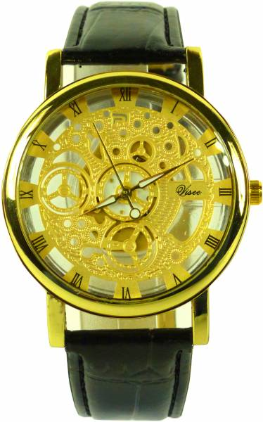 Uhr Herren Damen Uhren Business Watch Mechanic Designer Armband Uhren 4541 Visee (gold)