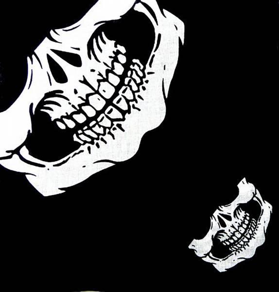 Tuch Totenkopf Bandana Mundschutz Zantana - Skull Face