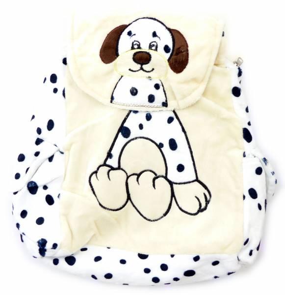 Rucksack 4574 Kinder Tasche Kuscheltier Kinder Rucksaecke Child Backpack viele Modelle (Dog White)
