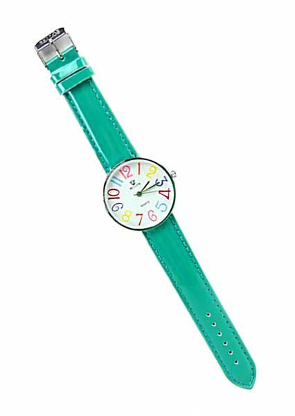 Armband-Uhr Herren Damen-Uhren grün Tolle Marken Uhr mit knalligen Farben in schönem Design GRÜN UA3