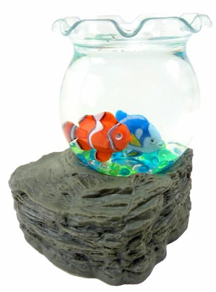 Kinder Wasserkugel Aquarium fische Wasser Kugel Spielzeug waterbowl Clown Doktor Fisch aqua fishes 4813