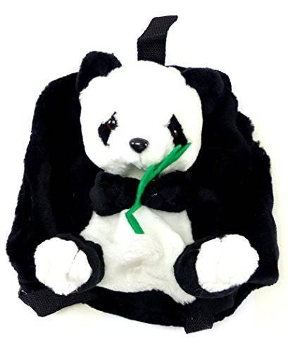 Rucksack 2436 Kinder Tasche Kuscheltier Kinder Rucksaecke Child Backpack viele Modelle (Panda)