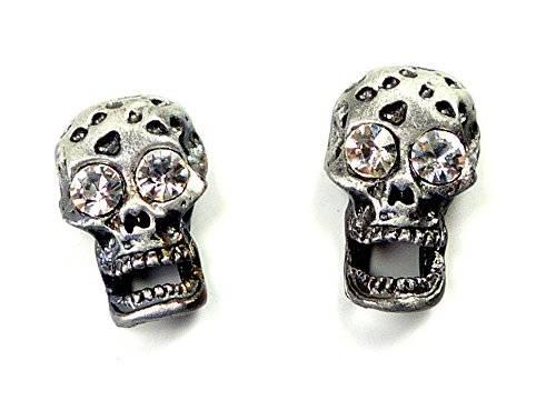 Killer Ohr-Ring-Set 4029 Magnet Ohrringe 2 Stk Top verarbeitet viele Modelle (black-silver)