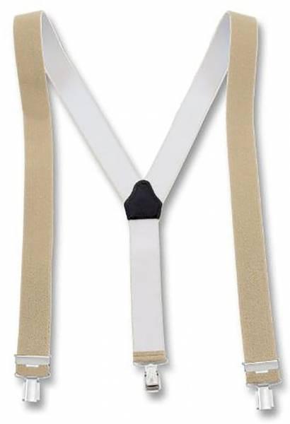 Hochwertige und modische Hosenträger viele Farben (beige) U55-1