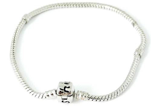 Armband-silber Beads Charms Armbaender silver mit Stopper Gewinde 1879