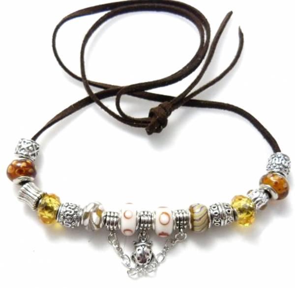 Halskette Armband Bead-kette in einzigartiger Zustammenstellung und edlem Design 2460
