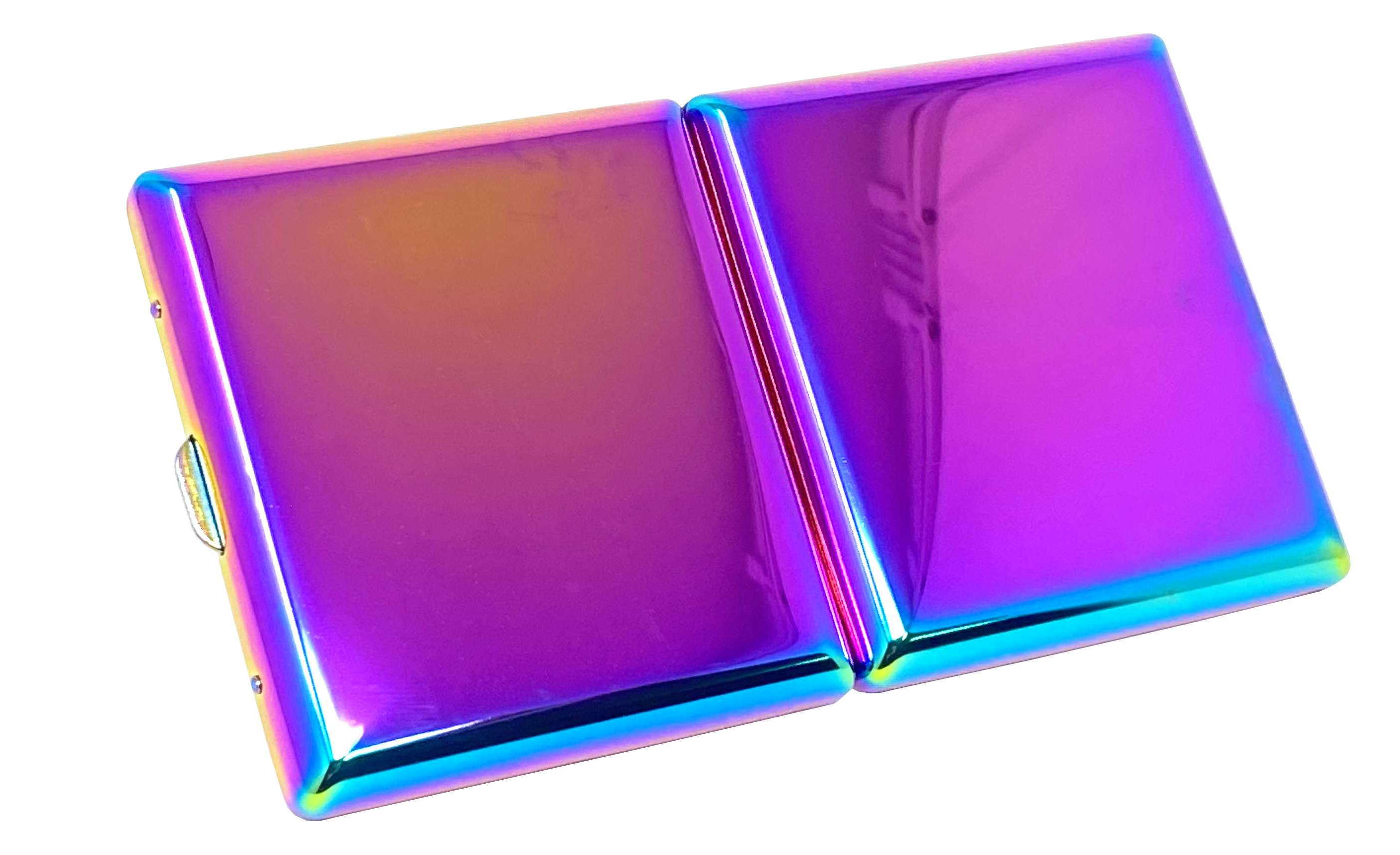 Seilershop Premium Metall Zigaretten-Etui Zigaretten-Box Schachtel in Multi Color Farben