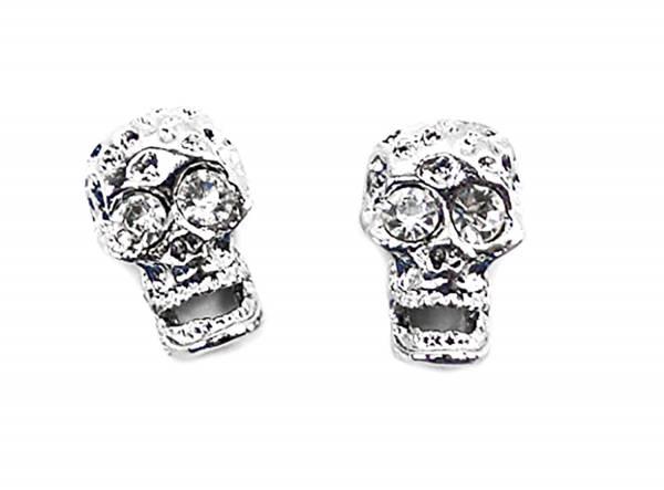 hochwertige Magnet Ohrringe 2 Stk, Top verarbeitet viele Modelle (silver-silver)