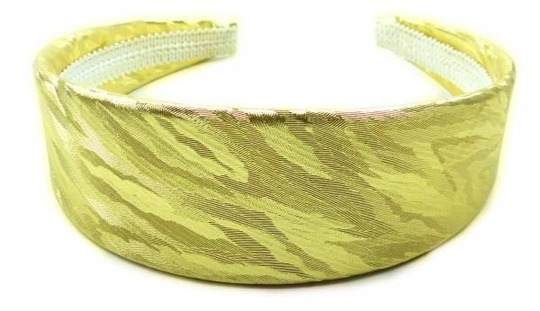 Haar-Reif 4421 Haar-Spange Haarreifen im edlen Glanz Haar-Reifen (gold)