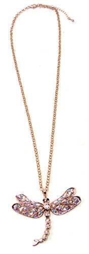 tolle Halsketten in Rotgold und edlem Strass - viele Modelle (Steine blau)