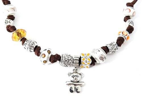 Beads Armband Charms Kette Länge einstellbar Teddy one